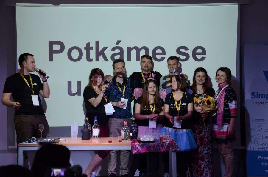 Organizátoři kolínského barcampu 2019